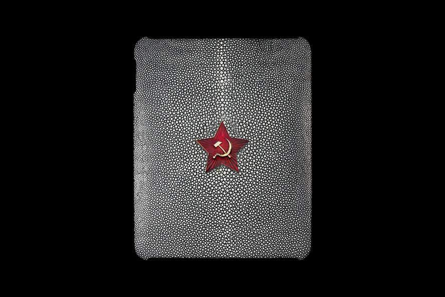 Exclusive Case with Gold 999 Apple 24ct. Case made from Carbon & Stingray Polished for MJ Apple iPad