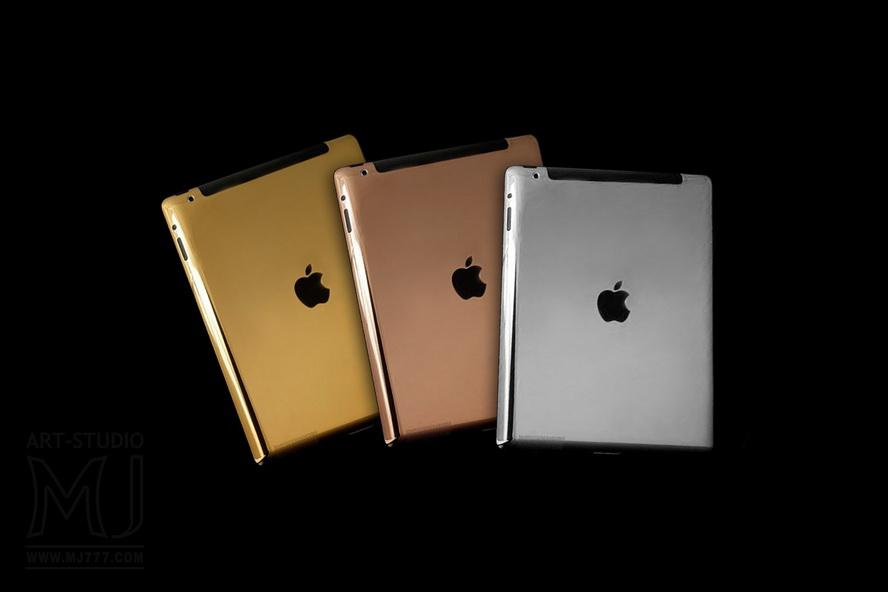 MJ Customization - APPLE iPAD EXCLUSIVE EDITION - Gold, Diamonds